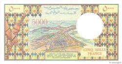 5000 Francs DJIBOUTI  1991 P.38c NEUF