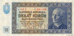 10 Korun SLOVAQUIE  1939 P.04s pr.NEUF