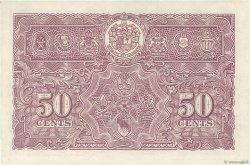 50 Cents MALAYA  1941 P.10b SPL