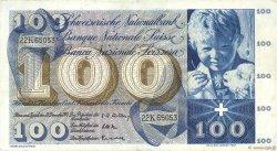 100 Francs SUISSE  1958 P.49c TTB