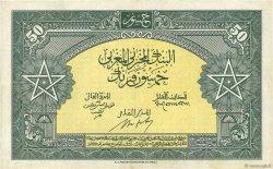50 Francs type 1943 MAROC  1943 P.26a TTB+