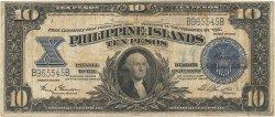 10 Pesos PHILIPPINES  1924 P.071 TB+