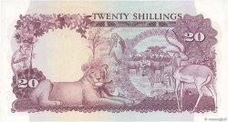 20 Shillings OUGANDA  1966 P.03a pr.NEUF