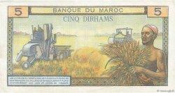 5 Dirhams MAROC  1969 P.53f SUP