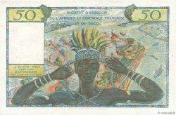 50 Francs type 1956 AFRIQUE OCCIDENTALE FRANÇAISE (1895-1958)  1956 P.45 TTB