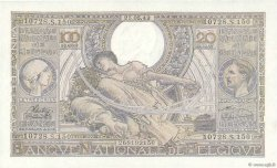 100 Francs Ou 20 Belgas BELGIQUE  1943 P.112 pr.NEUF
