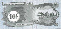 10 Shillings BIAFRA  1968 P.04 NEUF