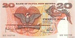 20 Kina PAPOUASIE NOUVELLE GUINÉE  1981 P.10c NEUF