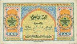 100 Francs MAROC  1944 P.27a TTB