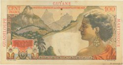 1 Nouveau Franc sur 100 F La Bourdonnais ANTILLES FRANÇAISES  1960 P.01 TTB