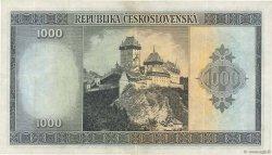 1000 Korun TCHÉCOSLOVAQUIE  1945 P.065a TTB+
