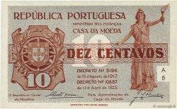 10 Centavos Casa Da Moeda PORTUGAL  1925 P.101 NEUF