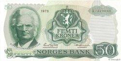 50 Kroner NORVÈGE  1973 P.37b pr.NEUF