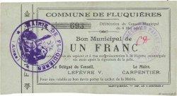 1 Franc FRANCE régionalisme et divers FLUQUIERES 1915 JP.02-0904 TTB
