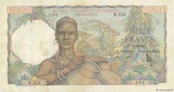 1000 Francs AFRIQUE OCCIDENTALE FRANÇAISE (1895-1958)  1948 P.42 TTB+