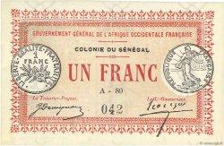 1 Franc SÉNÉGAL  1917 P.02b pr.NEUF
