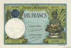 10 Francs MADAGASCAR  1957 K.805b pr.NEUF