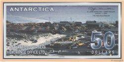 50 Dollars ANTARCTICA  2001  NEUF