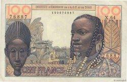 100 Francs AFRIQUE OCCIDENTALE FRANÇAISE (1895-1958)  1957 P.46 pr.SUP