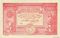 5 Centavos Casa Da Moeda PORTUGAL  1918 P.098 pr.NEUF
