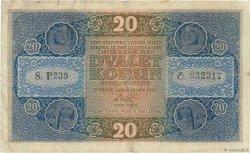 20 Korun TCHÉCOSLOVAQUIE  1919 P.009a TB