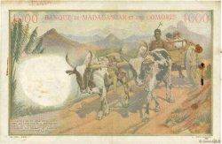 1000 Francs COMORES  1963 P.05b TTB