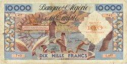 100 Nouveaux Francs sur 10000 Francs ALGÉRIE  1958 P.114 TB