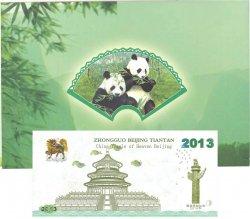 1 Yuan PANDA CHINE  2013  NEUF