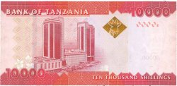 10000 Shilingi TANZANIE  2010 P.44 NEUF