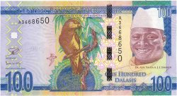 100 Dalasis GAMBIE  2015 P.35 NEUF
