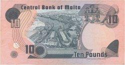 10 Liri MALTE  1979 P.36b TTB