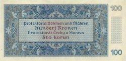 100 Korun BOHÊME ET MORAVIE  1940 P.06a SUP