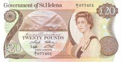 20 Pounds SAINTE HÉLÈNE  1986 P.10a SPL