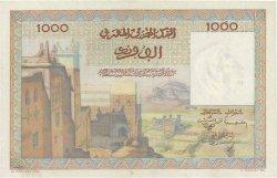 1000 Francs type 1951 MAROC  1952 P.47 pr.SPL