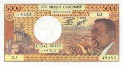 5000 Francs type 1971/1973 GABON  1971 P.04c NEUF
