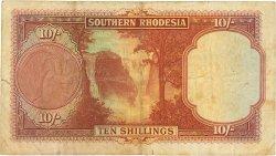 10 Shillings RHODÉSIE DU SUD  1951 P.09f TB