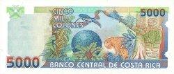 5000 Colones COSTA RICA  1999 P.268 pr.NEUF