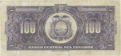 100 Sucres ÉQUATEUR  1946 P.095c TTB