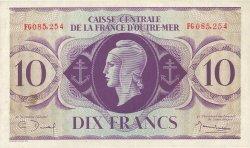 10 Francs type 1943 AFRIQUE ÉQUATORIALE FRANÇAISE  1943 P.16a SPL