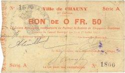 50 Centimes FRANCE régionalisme et divers  1915 JP.02-0479 TB