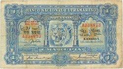 1 Rupia INDE PORTUGAISE  1924 P.023A TB