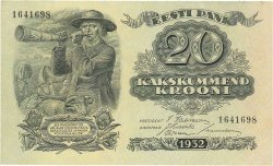 20 Krooni ESTONIE  1932 P.64a SPL