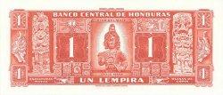 1 Lempira HONDURAS  1961 P.054Aa NEUF