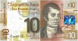 10 Pounds ÉCOSSE  2009 P.229J NEUF
