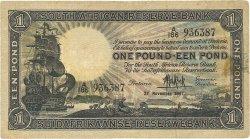 10 Shillings AFRIQUE DU SUD  1947 P.084f TB