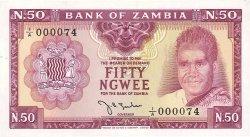 50 Ngwee ZAMBIE  1968 P.04a NEUF