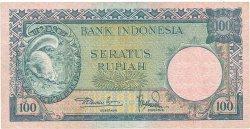 100 Rupiah INDONÉSIE  1957 P.051 SUP
