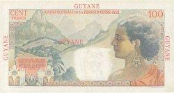 100 Francs La Bourdonnais GUYANE  1946 P.23 TTB