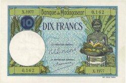 10 Francs MADAGASCAR  1948 P.36 SPL