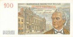 100 Francs BELGIQUE  1957 P.129b pr.NEUF